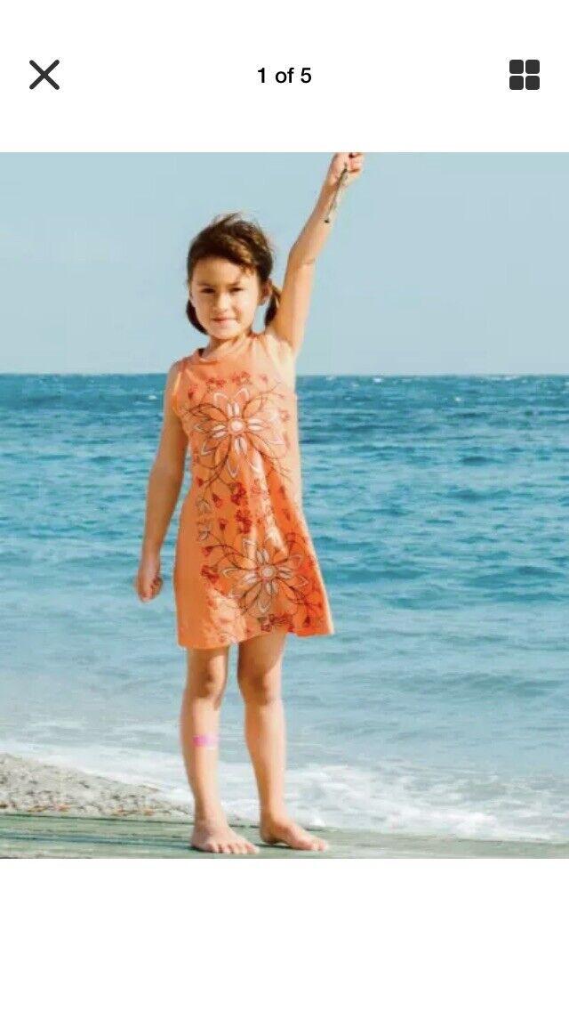 Brand New Tea Collection Mojave Giardino d/'Amalfi Graphic Dress ~ Girl/'s Sz 3