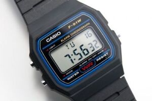 Reloj-de-pulsera-Casio-F-91W-Digital-Relojes-Multifuncion-Relojes-Wristwatch