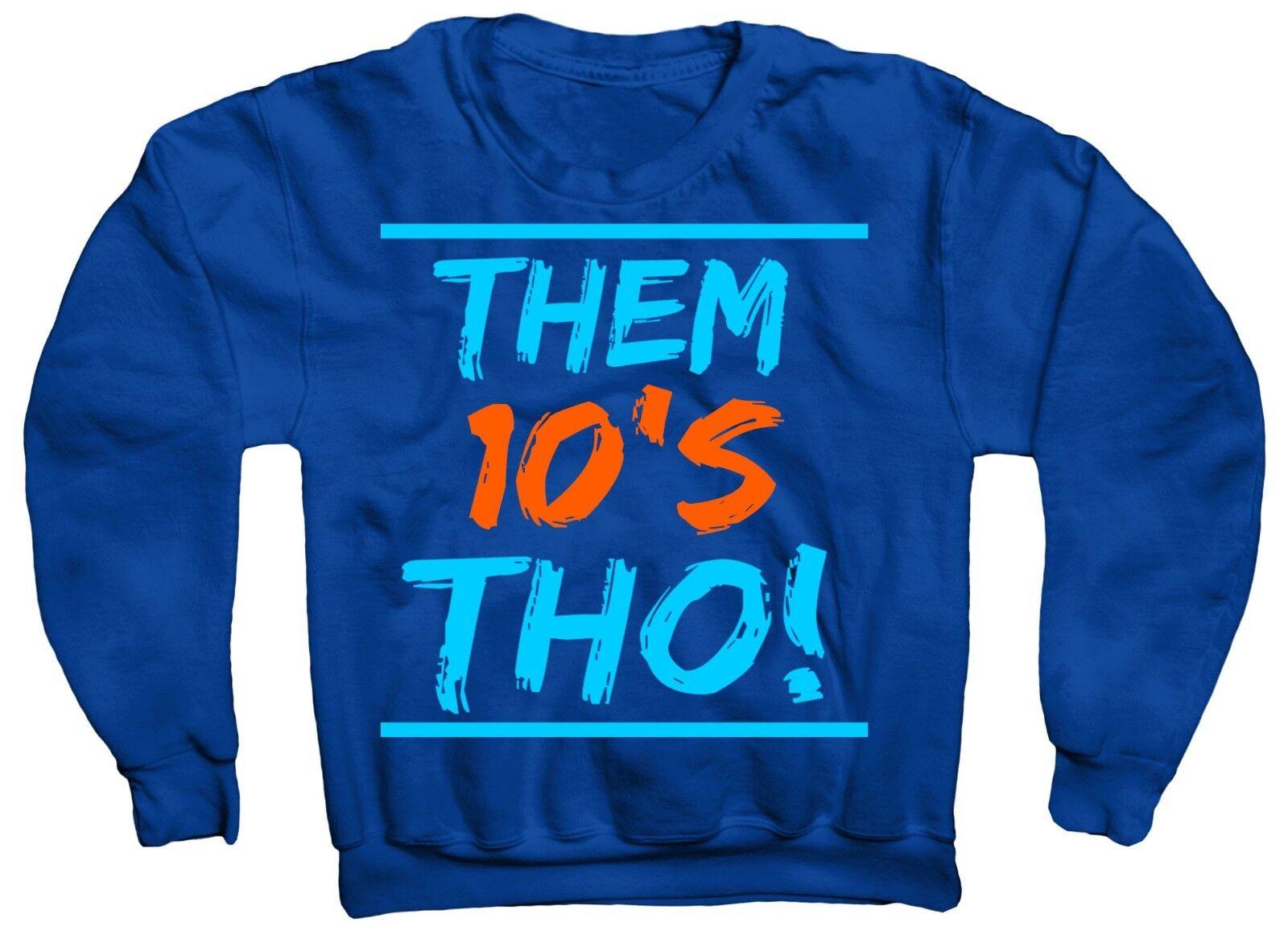 THOS   10 SWEATSHIRT IN JORDANS TINKER  RACER blueE  X HUARACHE LIGHT COLORWAY