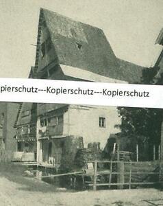 Nördlingen : In der vorderen Gerbergasse - um 1920         W 20-15