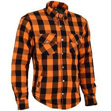 Camicia MOTO Lumber Jack Maglietta con aramide-tessuti Biker Moto Giacca aramide