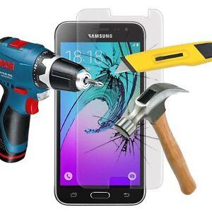 1-Film-Vitre-Verre-Trempe-de-Protection-d-039-ecran-Transparent-pour-Samsung-Galaxy