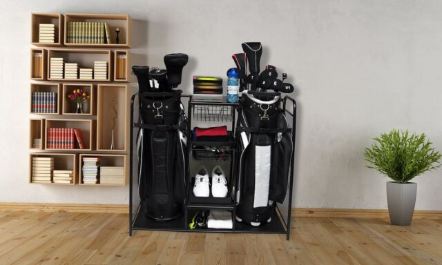 Merveilleux Golf Bag Storage Organizer Rack Club Equipment Holder New Accessories  Sports NEW
