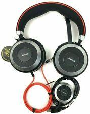 Jabra Evolve 80 Ms Black Orange Over The Ear Headsets For Sale Online Ebay