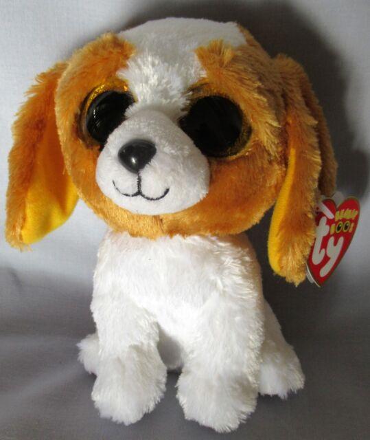 """MWMT Ty Beanie Boos ~ COOKIE the Dog 9/"""" Sparkly // Glitter Eyes Medium Size"""
