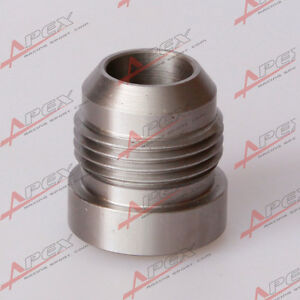 Atv,rv,boat & Other Vehicle Aluminum 10an An-10 An10 Male Mild Steel Weld On Fitting Bung Fast Color
