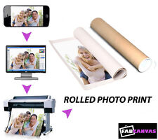 Your Photo/Image Print to a semi matt  20x20 inch large poster print.