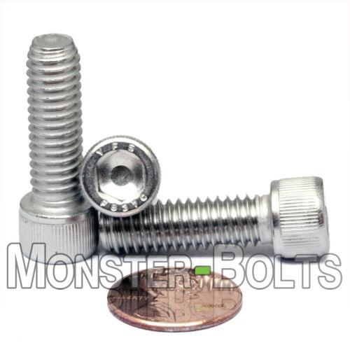 "Stainless Steel SOCKET HEAD Cap Screws Qty 10 18-8 // A2-70 5//16-18 x 1/"""