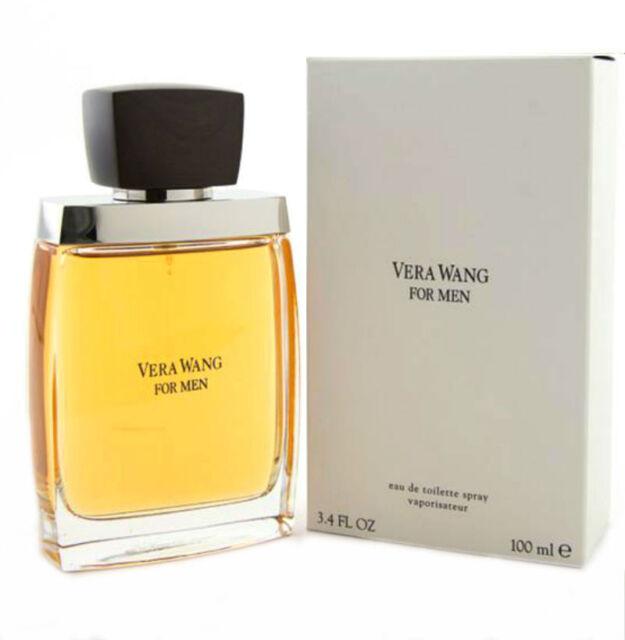 Vera Wang Cologne for Men by Vera Wang Eau de Toilette Spray 3.4 oz New in Box