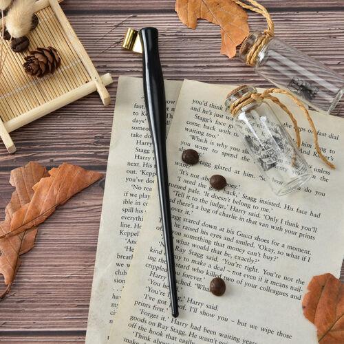 english copperplate script antique dip pen oblique calligraphy pen holder RSDE