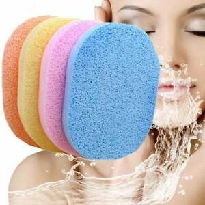 5pcs-Face-Facial-Wash-Pad-Makeup-Remover-Cleaning-Sponge-Puff-Exfoliator-Scrub