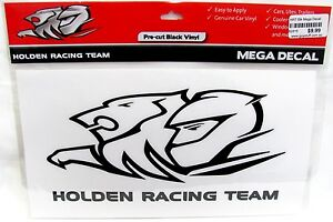 62816 HOLDEN RACING TEAM HRT MEGA SUPERSIZED LARGE LOGO CAR SPOT STICKER