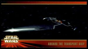 Topps Star Wars Episode 1 Widevision (1999) Aboard the Transport Ship No. 20