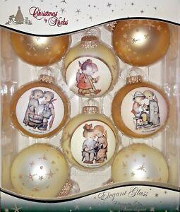 Moderne Christbaumkugeln.Dettagli Su Palline Albero Di Natale Sfera Hummel Motivi Moderno 8tlg Set Krebs Glas Lauscha Mostra Il Titolo Originale