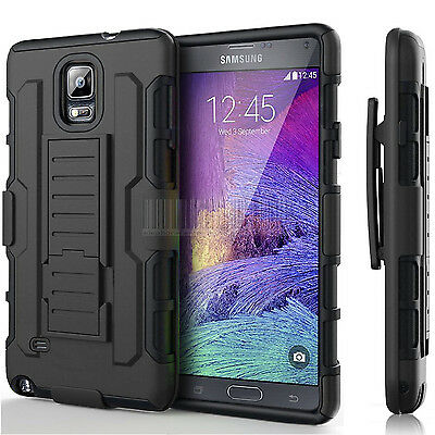 Heavy Duty Shockproof Hybrid Armor impact Hard Case Holster Stand Defender Cover