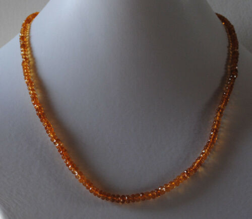 Natur Edelsteine facettierte Citrin Steine als Halskette Citrin Kette