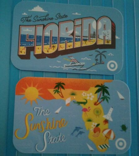 Collectible Sunshine State Map /& Ocean Beach Mint TARGET Florida Gift Cards