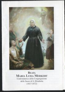 Image pieuse de la Beata Maria Luisa santino holy card estampa andachtsbild fQMkJmRr-08055952-548596806