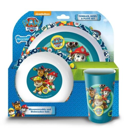 PAW Patrol Dinner Set Assortment Each Set Sold Separately and random kids 3