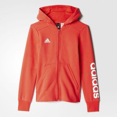 Adidas Girls Hoodie Training Youth Essentials 3-Stripes Mid BP8582 Sweatshirt