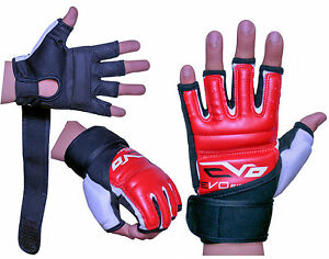 EVO-MMA-GEL-Grappling-Gloves-Karate-Mitts-Boxing-Martial-Arts-body-Combat-UFC