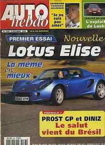 AUTO-HEBDO-n-1268-du-6-Decembre-2000-LOTUS-ELISE