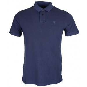 REPLAY-COTONE-stiched-Logo-Navy-Polo