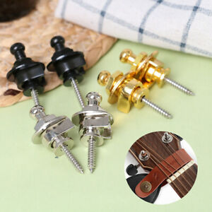 2-Pcs-Guitar-Strap-Lock-Botton-Schaller-Straplocks-Electric-Acoustic-Bass-YK