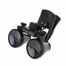 Dental Loupes 35x420mm Clip Type Surgical Medical Binocular Magnifier Glasses