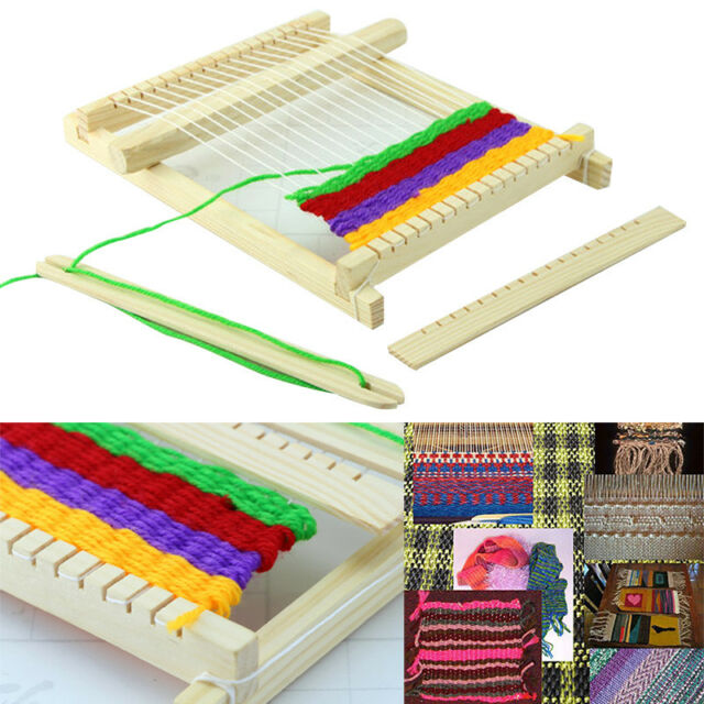 Wood Knitting Loom Yarn Shuttle Comb Diy Handmade Craft Tool