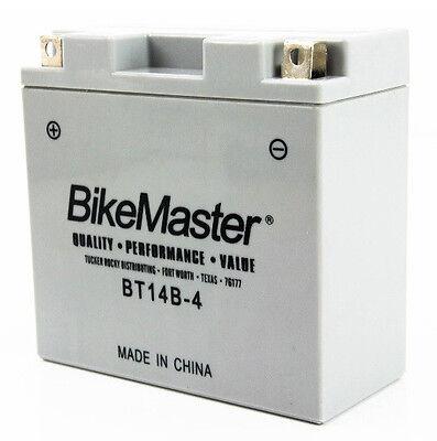 BikeMaster Maint Free Battery XVS 1100 V Star Custom 1999 2000 2001 2002 2003