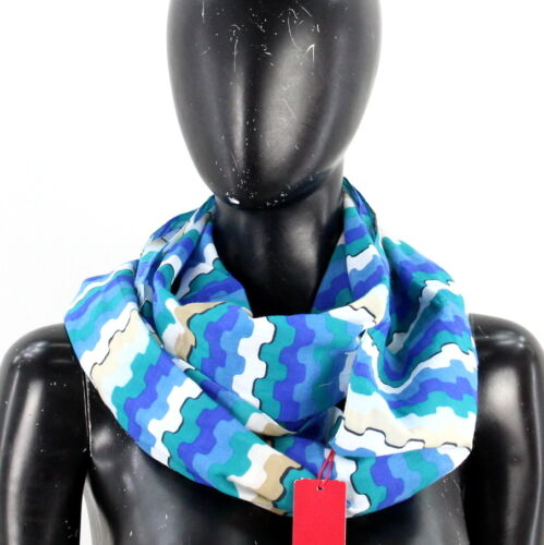 Oliver Damen LOOP Schal Schlauchschal One Size Blau NEU A2145 s