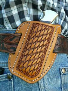 Large-Leather-Cross-Draw-Pocket-Knife-Sheath-Ruff-s-Saddle-Shop-Tan