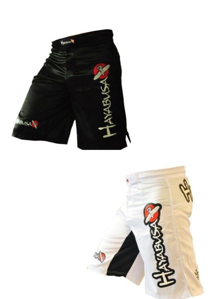 SHORT DE COMBAT POUR FREE FIGHT / MMA / MUAY THAI ** HAYABUSA **  PORT OFFERT **