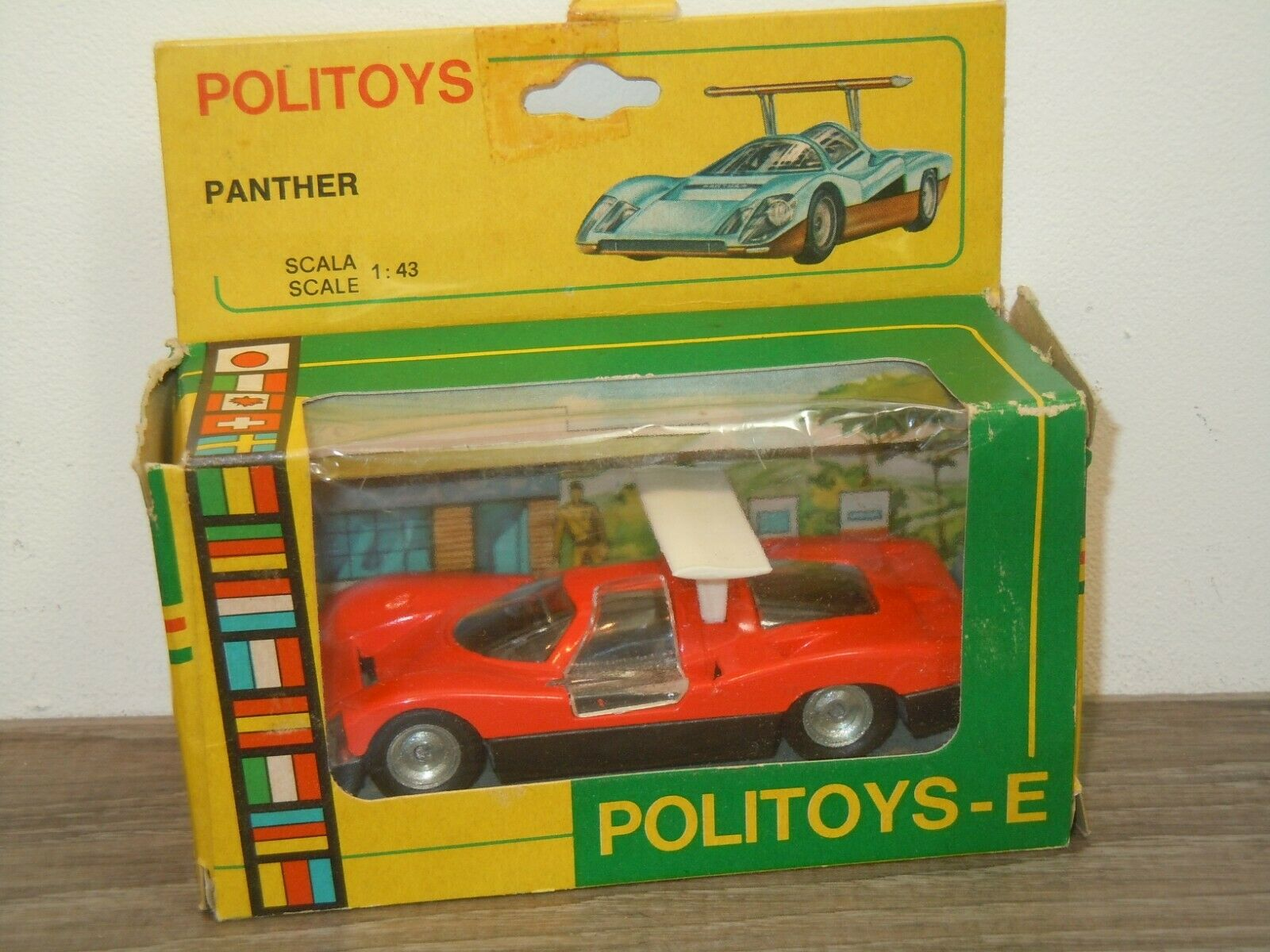 Panther - Politoys 564  1 43 in Box 36703 36703 36703 252a19