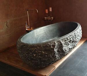neptunis 180x90x58cm naturstein badewanne unikat ebay. Black Bedroom Furniture Sets. Home Design Ideas