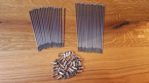 Spokes BMW R75//6 R90S REAR WHEEL Stainless Steel 40 Pcs Nipples R80//7