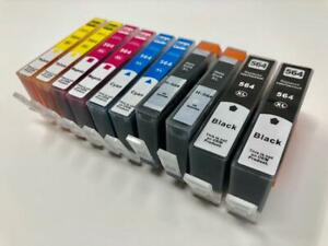 10-ink-Cartridges-564-XL-for-HP-Officejet-4610-4620-4622-Deskjet-3070a-3520-3521