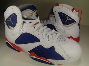 1cadb53a32e2b2 Nike Air Jordan 7 VII Retro Tinker Alternate Olympic Gold SZ 16 ...