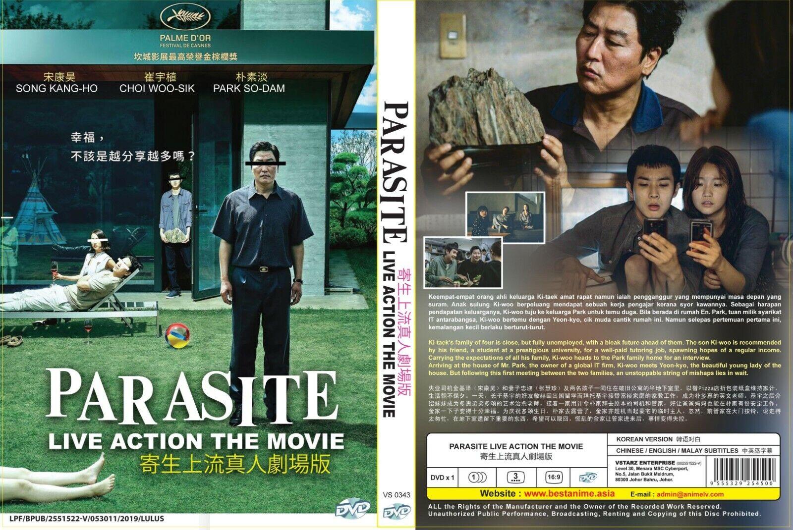 movie 2019 malay Parasite 2019 Film DVD English Subtitle All Region Korean Movie