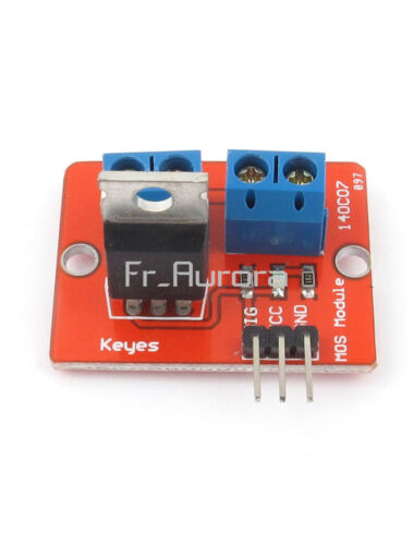 1//2//5//10PCS IRF520 MOSF Button MOSFET Driver Module for Arduino ARM Raspberry pi