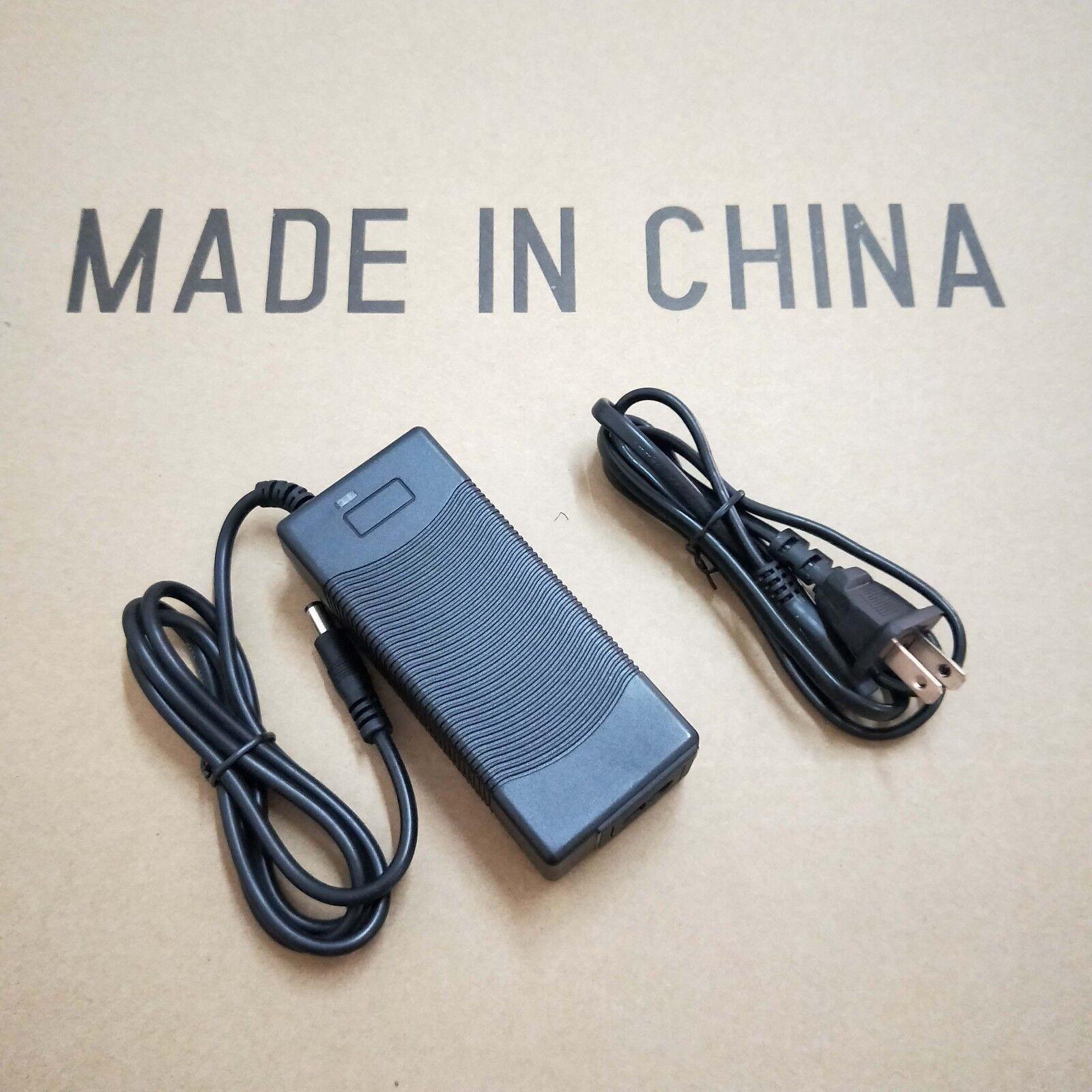 Smart Battery charger  36V 2A 42V 2A 10S Li-ion charger with 2.1DC plug 110-220V  deals sale