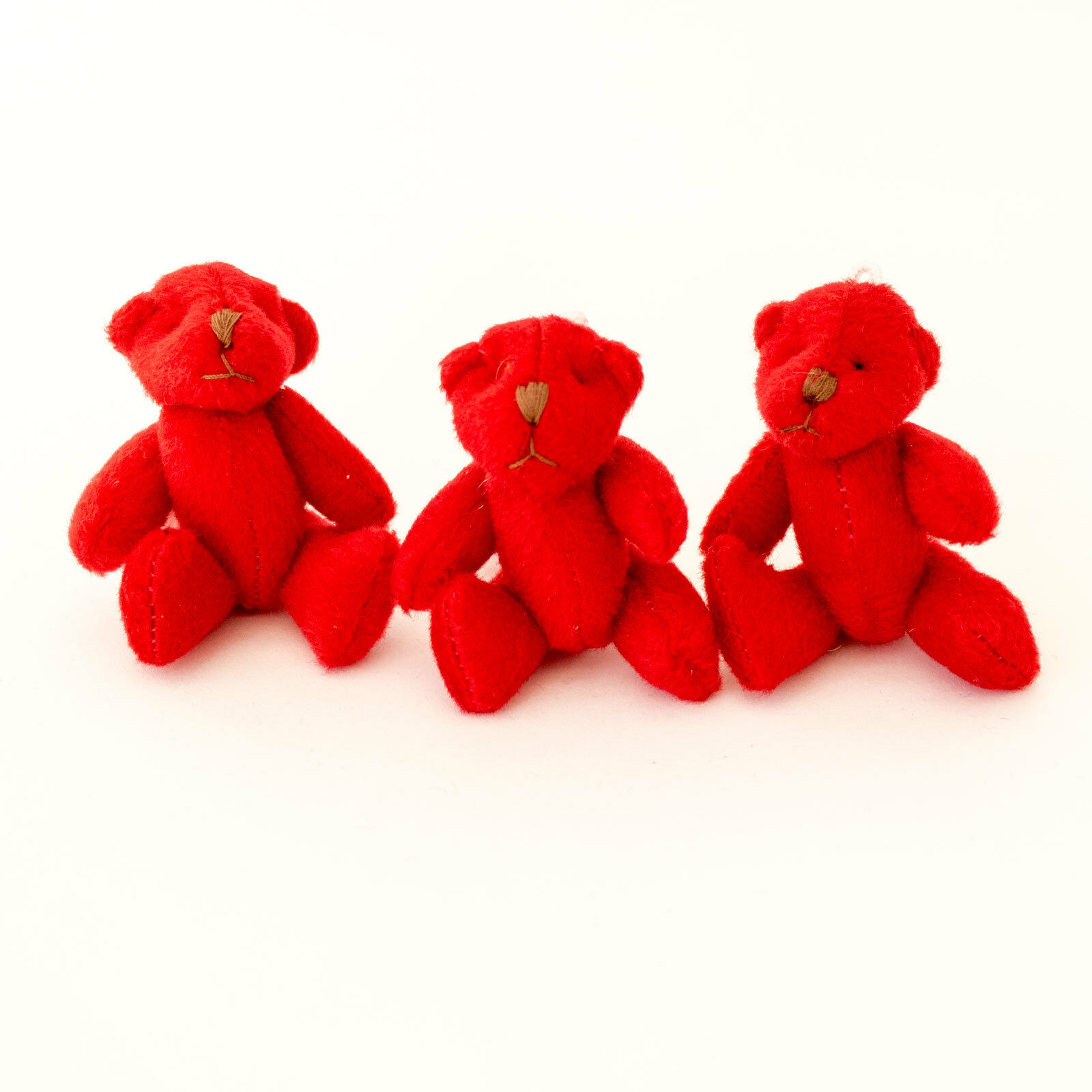 NEW - 150 X rot Teddy Bears - - - Small Cute Cuddly Adorable - Gift Present 0d5bb6
