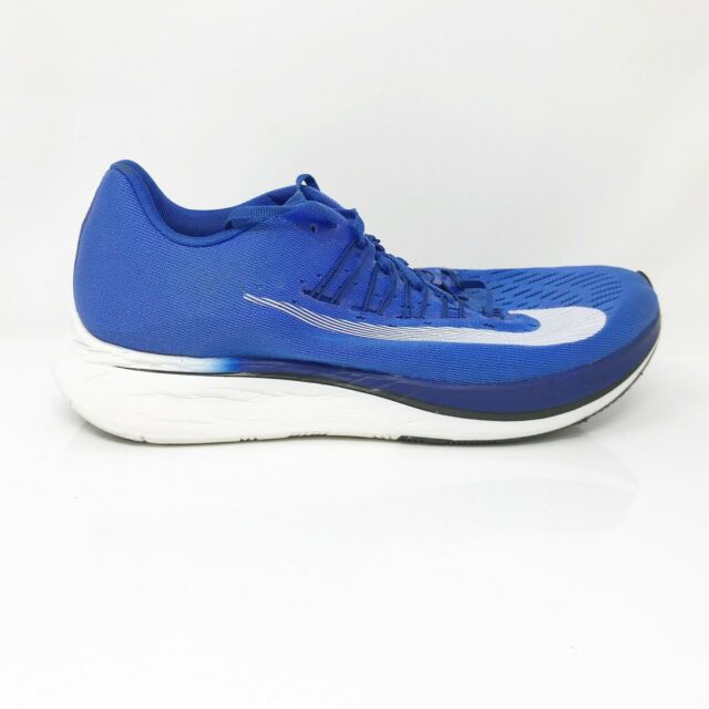 Nike Mens Zoom Fly 880848-411 Royal Blue Running Shoes Lace Up Low Top Size 11