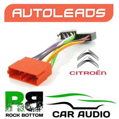 Autoleads pc2-06-4 Peugeot 406 99 /& Gt Auto Stereo Iso Plomo Conector Cable Adaptador