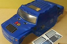 1/10 RC Monster Truck Off Road Body Shell in Blue
