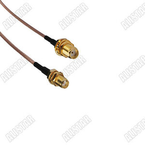 5x-SMA-female-to-SMA-female-bulkhead-pigtail-Coaxial-Cable-RG316-for-wireless