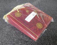 The Gift Wrap Company Posh Poinsetta Truff Gift Bag 6pcs (m)