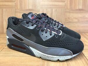 RARE-Nike-Air-Max-90-EM-Night-Stadium-Clear-Gray-Sz-10-5-554719-001-Men-039-s-Shoe