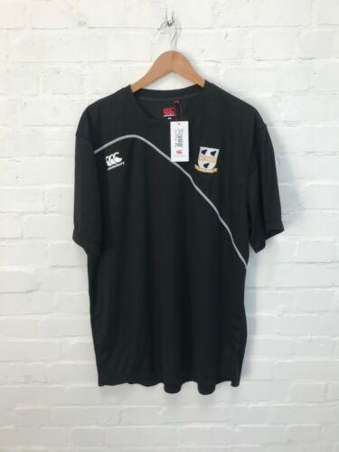 Black Worcestershire County Cricket Canterbury Men/'s Training Shirt New